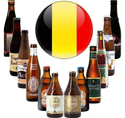 KALEA Probierset, 12 Biere von belgischen Kloster- und Trappisten Brauereien
