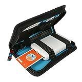 Khanka Reise tragen Fall Tasche Case Für Polaroid ZIP Handydrucker ZINK Zero tintenfreier Drucktechnologie - Schwarz
