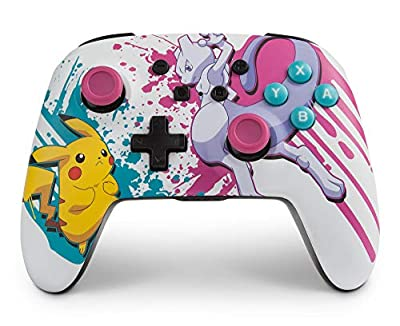 Enhanced Wireless Controller for Nintendo Switch and Nintendo Switch Lite - Pokemon Battle