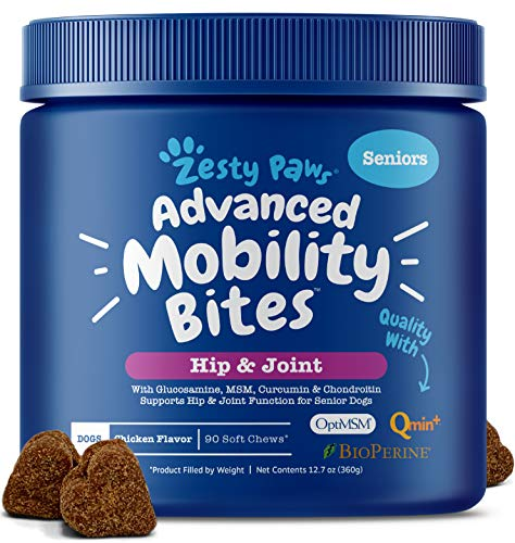 Zesty Paws Senior Advanced Glucosamine for Dogs