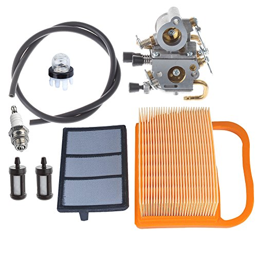 Hipa C1Q-S118 Carburetor with Air Filter Primer Bulb Fuel Tune Up kit for STIHL Concrete Cut-Off Saw TS410 TS410Z TS420 TS420Z # 4238 140 4401