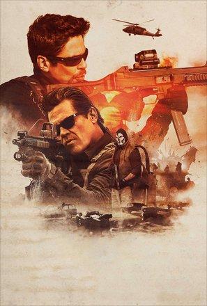 Import Posters Sicario 2 : SOLDADO – U.S Textless Movie Wall Poster Print - 30CM X 43CM
