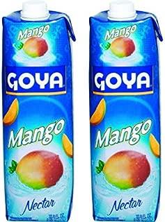 Goya Mango Nectar 33.8oz (Pack of 02)