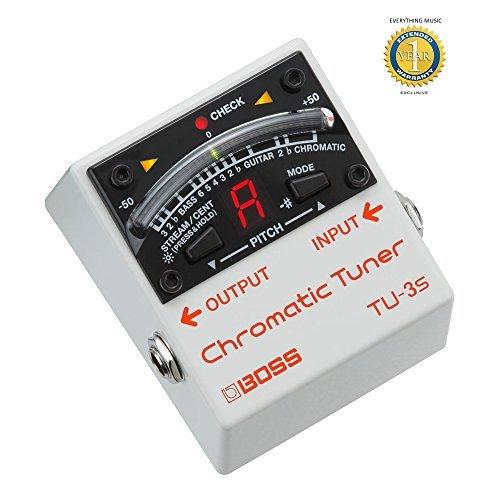BOSS TU-3S Chromatic Tuner Compact chitarra e basso accordatore a pedale