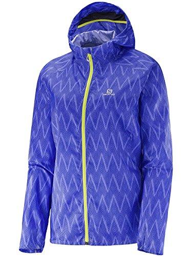 Salomon Fast Wing Graphic Hoodie - Sweatshirt für Damen, Farbe Lila, Größe M