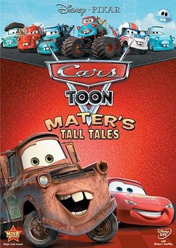 Cars Toon: Mater's Tall Tales. (DVD)