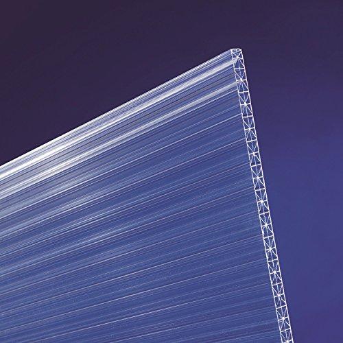 scobalit X-ar dual X Polycarbonat Hohlkammerplatten klar L 3000mm B 980mm 16mm