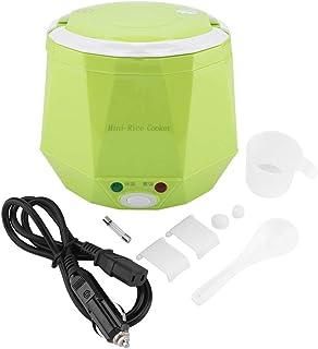 Cuiseur à Riz électrique | 12V 100W 1,3L Mini Cuiseur Multi | Cuiseur à Vapeur Portable pour Voitures Chauffe-plats Instan...
