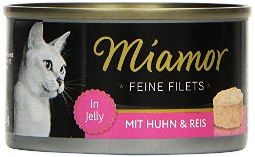 Miamor Feine Filets Huhn & Reis 24 x 100g