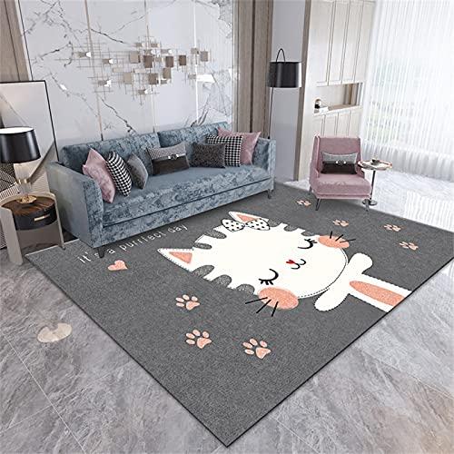 Alfombras Minimalistas Modernas Escandinavas, Cojines De Sofá De Sala De Estar Abstractos Geométricos, Dormitorios Grandes 50 x 80cm