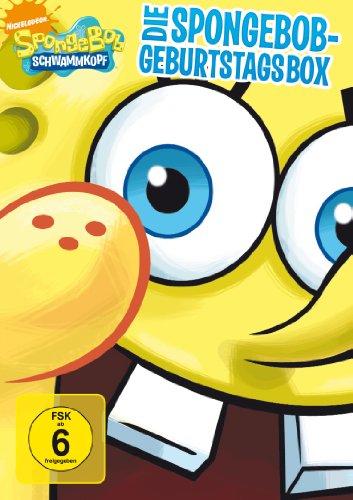 SpongeBob Schwammkopf - Die SpongeBob Geburtstagsbox [2 DVDs]