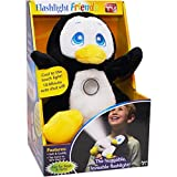 Flashlight Friends As Seen On TV Stuffed Animal Black Penguin