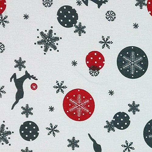Bezug für Kopfkissen, Schlafkissen (80 x 80, Baumwolle Weihnachten)