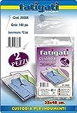 Fatigati Casa - Funda para ropa 2 unidades 35 x 48 cm
