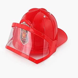 Goolsky Little Kids' Fireman Costume Fireman Dress Up Cap Pretend Role Play Firefighter Gifts for kids