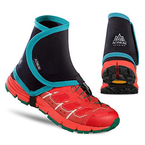 Explopur Low Trail Gamaschen - Outdoor Schuhe Abdeckung Knöchel Gamasche Sand Schutzmanschette Low Trail Gamasche Männer Frauen Laufen Walking Marathon Gamaschen