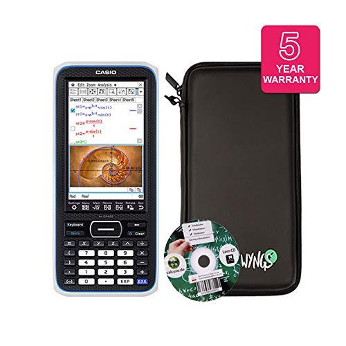 Streberpaket: Casio Classpad II (FX-CP 400) + Erweiterte Garantie + Lern-CD (auf Deutsch) + Schutztasche