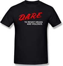 Dare to Resist Drugs and Violence Men's Basic Short Sleeve T-Shirt