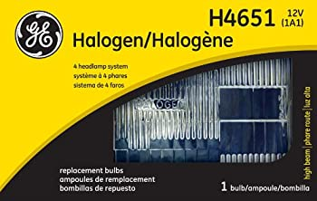 GE Lighting H4651 Standard Automotive Halogen Sealed beam Replacement Bulb