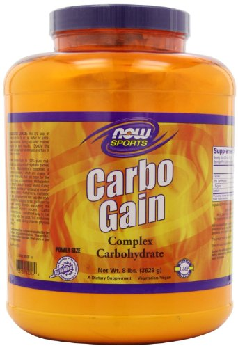 Now Foods Carbo Gain 100% Complex Carbohydrate - 8 lbs