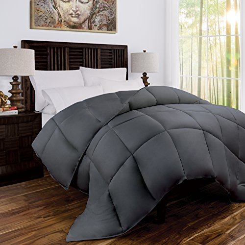 Mandarin Home Luxury 100% Rayon Derived From Bamboo Comforter with Goose...