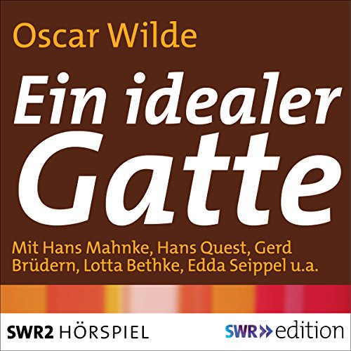 Ein idealer Gatte audiobook cover art