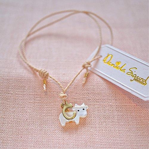 Cow bracelet,personalised friendship bracelet ,mother of pearl bracelet ,gift for animal lover ,friends not food bracelet