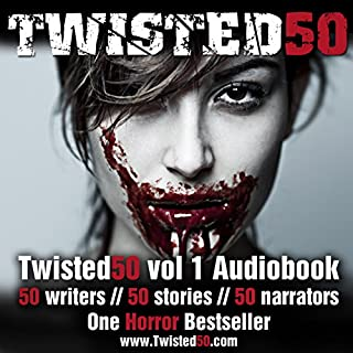 Twisted 50 audiobook cover art