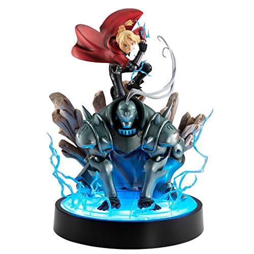 MMZ Fullmetal Alchemist Paisaje Edward Elric y Alphonse Elric Acción de Figuras coleccionables de Aficionados Fullmetal Alchemist