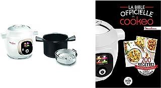 Moulinex Multicuiseur Intelligent Haute Pression 6 L 150 Recettes 6 Modes de Cuisson et La bible officielle du cookeo: 200...