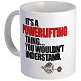CafePress - A POWERLIFTING THING - Unique Coffee Mug, 11oz Coffee Cup by CafePress