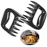 Guizu 2 PZ Artigli per Carne Artigli d'Orso, BBQ Meat Claws Artigli forchettone per maneggiare, Tagliare, sminuzzare Pollo, Tacchino, polpettone,Artigli per Carne da Barbecue BBQ
