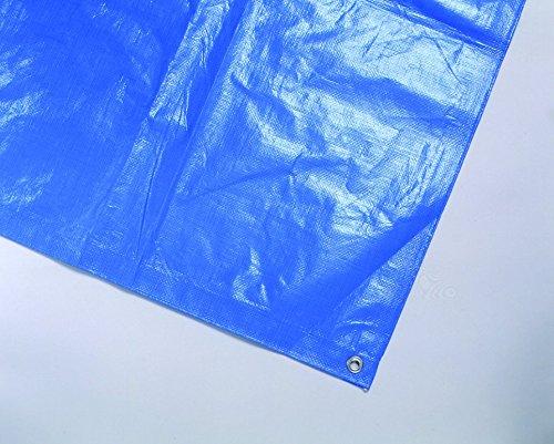 保育学校用品 スポーツブルーシート ハトメ付き 5.4×5.4m *砂場カバーにもよく使われています!共同組合認定品 *特注サイズも承ります!