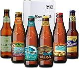 ハワイのビール飲み比べ6本セット【コナビール4種類、アロハビール、プリモビール】厳選6種類専用ギフトボックスでお届け