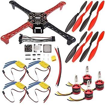 USAQ F450 450mm Quadcopter Drone Kit F3 Flight Controller 30A ESC 2212 Motor Kit