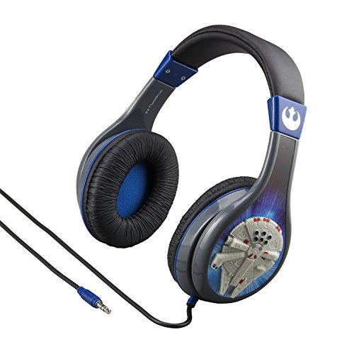 eKids Star Wars Headphones for Kids with Built in Volume Limiting Feature for Kid Friendly Safe Listening