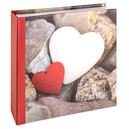 Walther Design Hearts III - Album per 200 Foto 10 x 15 cm, Multicolore