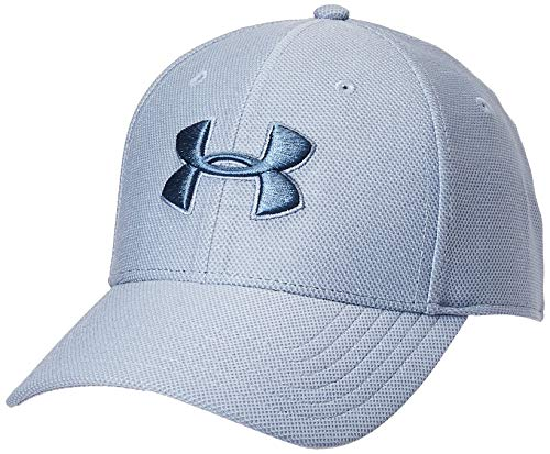 Under Armour Heathered Blitzing 3.0 Cap Small/Medium Washed Blue (420)/Mineral Blue