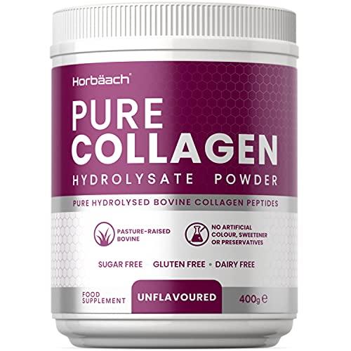 Hydrolysed Bovine Collagen Powder   18 Amino Acids & 11.7g Protein Per...