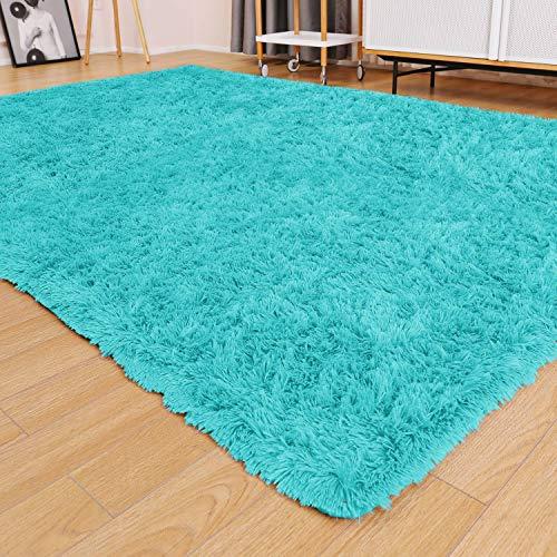 Ophanie Ultra Soft Fluffy Area Rugs for Living Room, Luxury Shag Rug Faux Fur Non-Slip Floor Carpet for Bedroom, Kids...