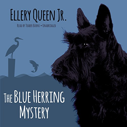 The Blue Herring Mystery audiobook cover art