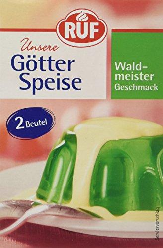 RUF Götterspeise Waldmeister Geschmack, 14 er Pack (14 x 24 g)