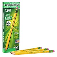 My First Ticonderoga 鉛筆 初等サイズ Box of 12