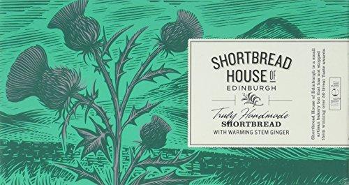 Shortbread House of Edinburgh mit kandiertem Ingwer