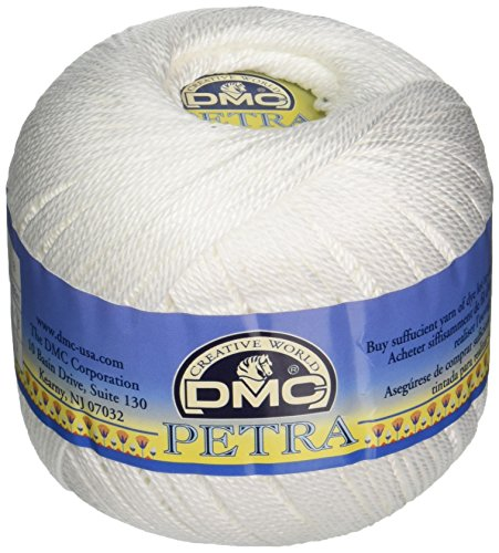 DMC 993B3-B5200 Petra Crochet Cotton Thread, Size 3