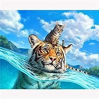 ジグソーパズル大人のための300ピース家の装飾のための水のアートワーク、オフィスの壁の装飾の絵画、ギフト