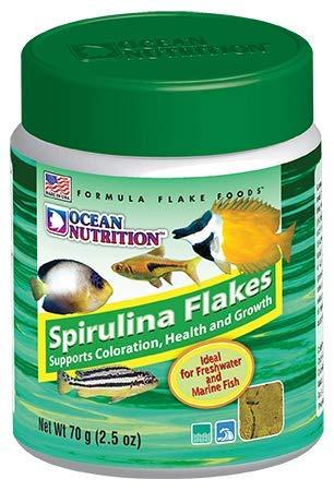 Ocean Nutrition Spirulina Flakes 2.5-Ounces (70 Grams) Jar