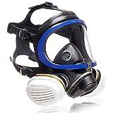 Dräger X-plore 5500® Máscara-respirador Completa de protección con filtros reemplazables A2 P3 para Pintura, Barniz, Bricolaje y contra el Polvo