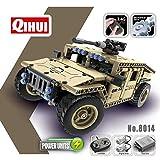 Qihui Ferngesteuerter Militär-Geländewagen 2.4G 4CH, ArtikelNr. 8014