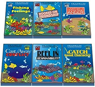 Go Fish: Set of 6 Card Games (Catch and Release Your Anger; Hooked On Friendship; Fishing for Feelings; Catch Good Character; Reel in Responsibility; Cast Away Conflict)